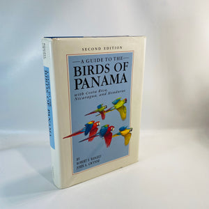 Birds of Panama with Costa Rica by Robert Ridgely 1989-Reading Vintage