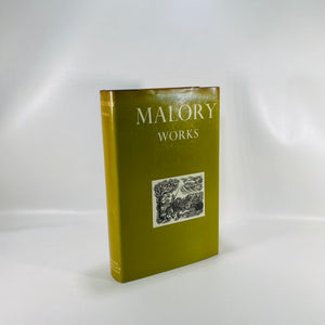 Malory Works edited by Eugene Vinaver 1971-Reading Vintage