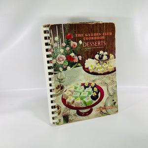 Garden Club Cookbook Desserts & Party Beverages 1967-Reading Vintage