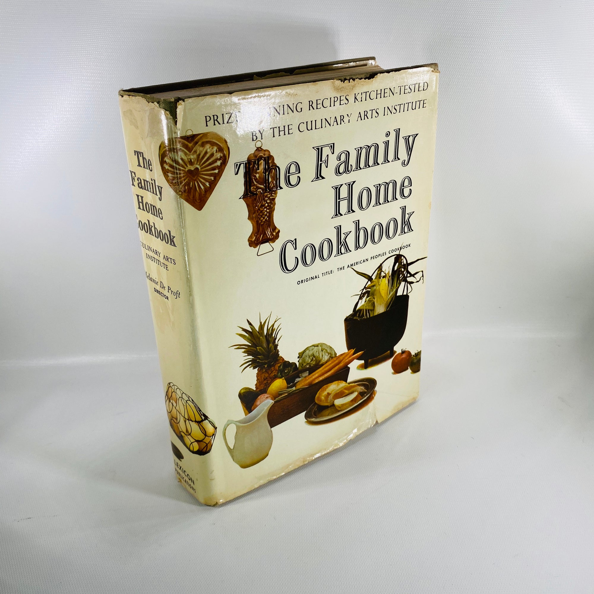 The Family Home Cookbook by The Culinary Arts Institute 1963