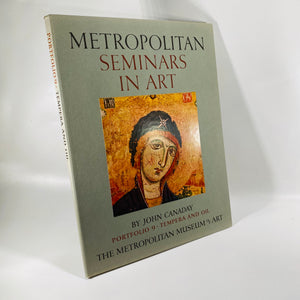 Metropolitan Seminars in Art by John Canaday Portfolio 9-Tempera and Oil 1958
