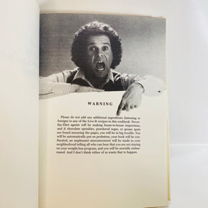 Richard Simmons Never Say Diet Cookbook 1982-Reading Vintage