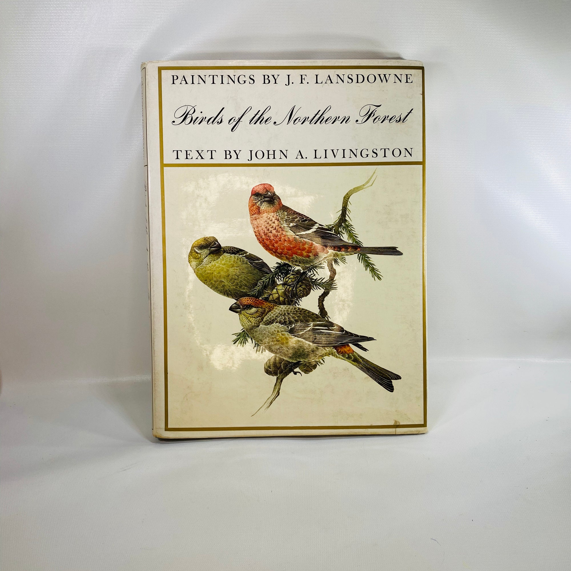 Birds of the Northern Forest by John Livingston 1966-Reading Vintage