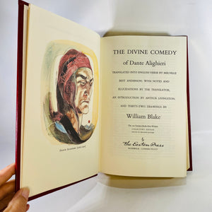 The Divine Comedy of Dante Alighieri 1978 Easton Press-Reading Vintage