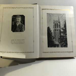 1929 Wolverine Michigan State College Yearbook 1929