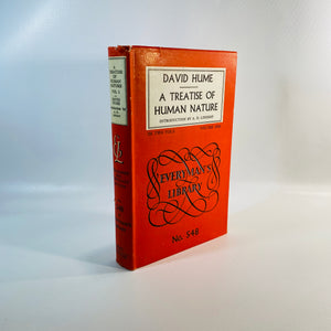 A Treatise of Human Nature by David Hume Vol One 1959-Reading Vintage