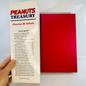 Peanuts Treasury by Charles M. Schultz 2000-Reading Vintage