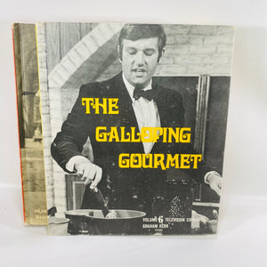 Galloping Gourmet TV Book by Graham Kerr Vol 1-7 1st Ed-Reading Vintage