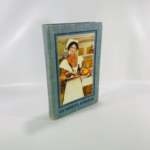 Hemmets Kookbok by Ida Norrby 1957 A Swedish Cookbook-Reading Vintage