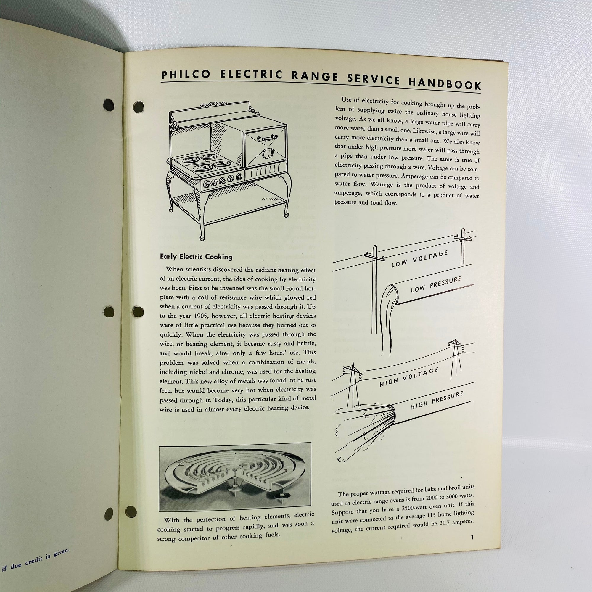 Philco Range Handbook PR-2134 Vol 1 1951 Philco Corp-Reading Vintage