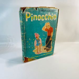 Pinocchio by Carlo Collodi A Rainbow Classic 1946-Reading Vintage