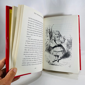 Alice's Adventures in Wonderland & Through the Looking Glass by Lewis Carroll 1978