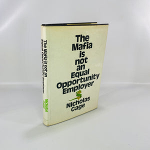 Mafia not Equal Opportunity Employer Nicholas Gage 1971-Reading Vintage