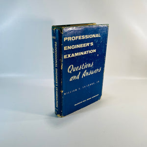 Professional Engineers Examination by W.  LaLonde 1956-Reading Vintage