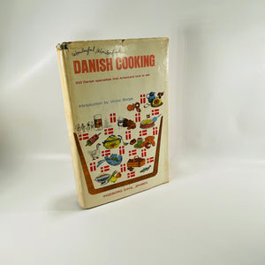 Wonderfull Wonderfull Danish Cooking by Ingeborg Jensen 1965