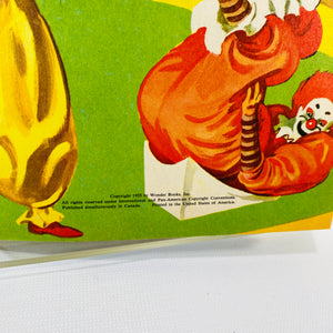 The Wonder Books of Clowns by Oscar Weigle 1955