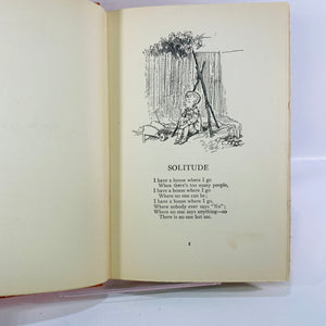 Now We Are Six by A.A Milne 1927 E.P. Dutton & Company-Reading Vintage