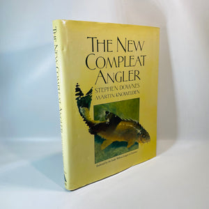 New Complete Angler by Stephen Downes 1st Edition 1983-Reading Vintage