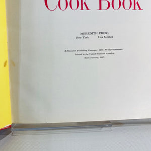 Desert Cook Book by The Better Homes & Gardens 1967