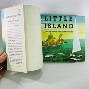 The Little Island by Golden MacDonald 1946 Doubleday&Co-Reading Vintage