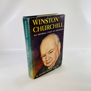 Winston Churchill by Robert Lewis Taylor 1952-Reading Vintage