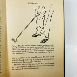 The Nine Bad Shots of Golf and what to do about them by Jim Dante 1947