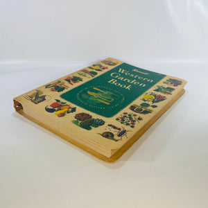 Sunset Western Garden Book by Lane Publishing Co. 1954-Reading Vintage