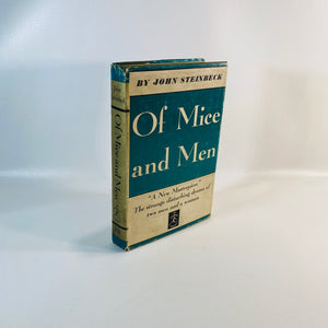 Of Mice & Men byJohn Steinbeck1937 Modern Library Book-Reading Vintage