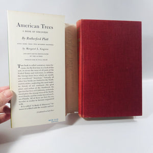 American Trees A Book of Discovery by Rutherford Platt 1952 A Vintage Horticulture Book
