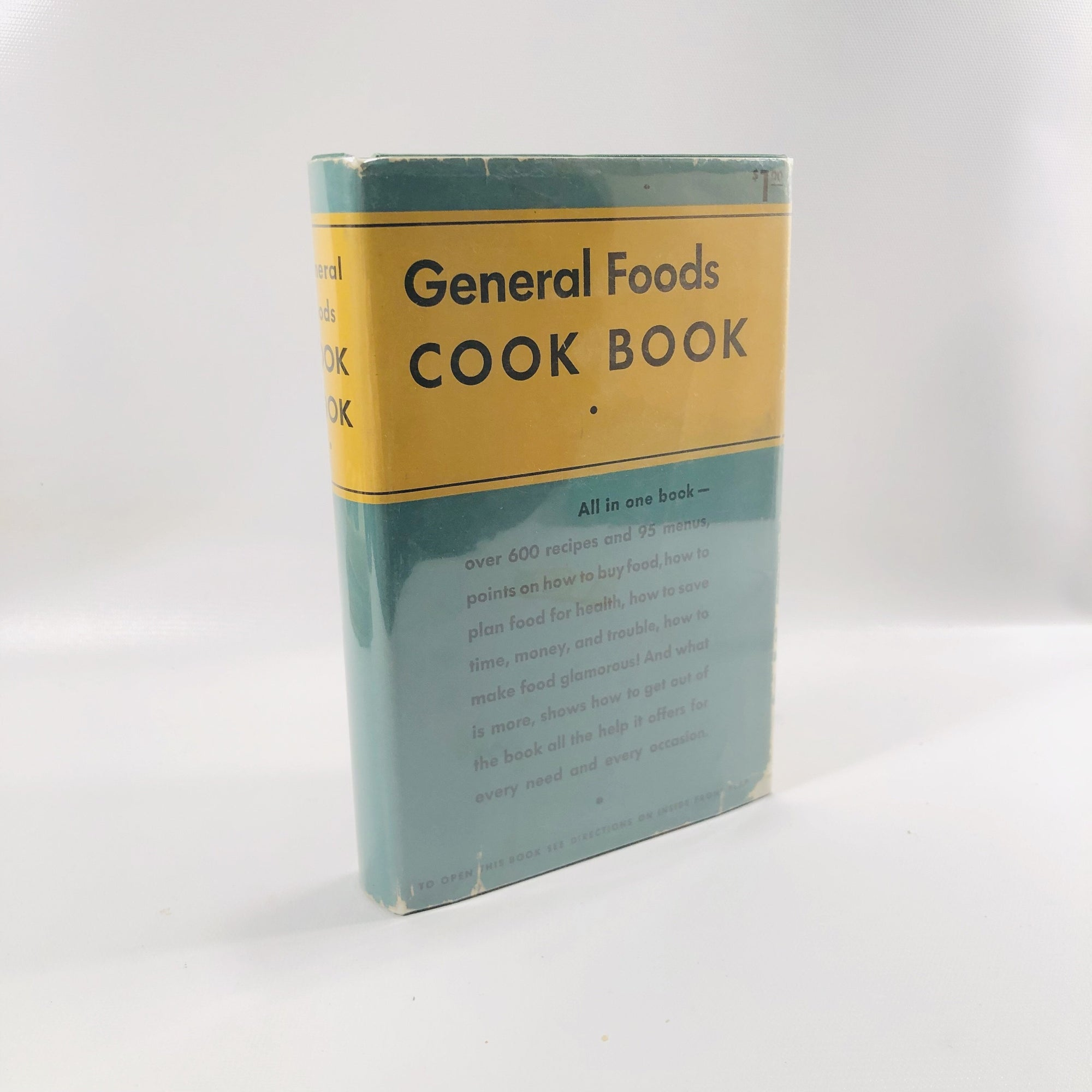 A Vintage Advertising Cookbook General Foods Cookbook by The General Foods Corporation 1935