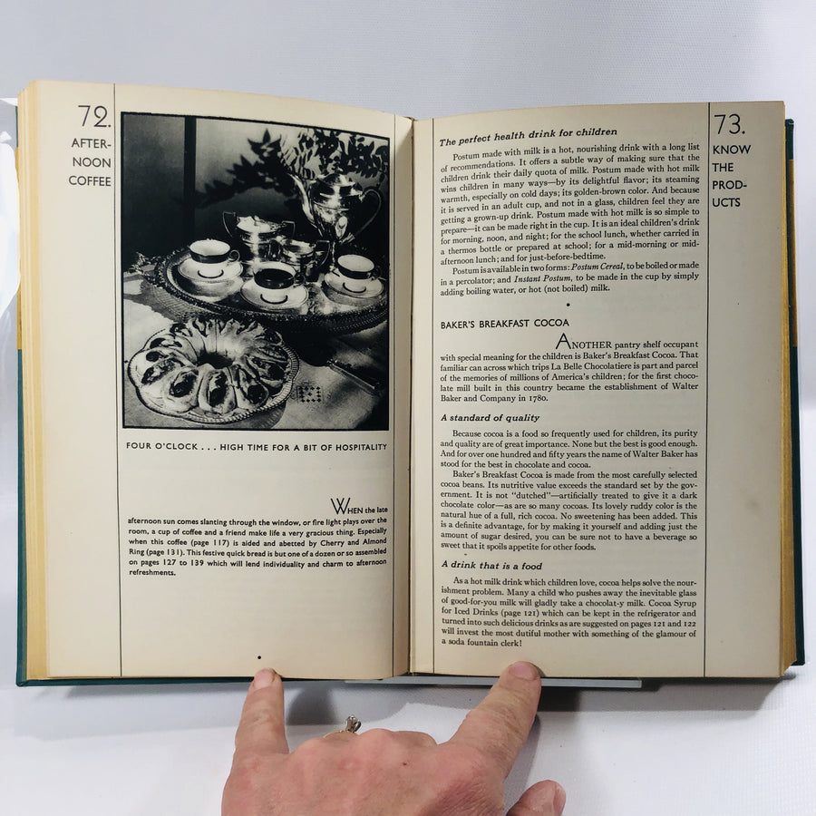 General Foods Cookbook by The General Foods Corporation 1932 A Vintage Advertising Cookbook