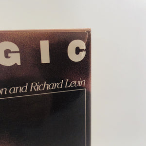 "Magic by Earvin ""Magic"" Johnson and Richard Levin 1983 A Vintage Basketball Life Story"