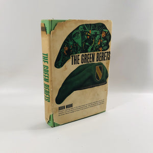 The Green Berets by Robin Moore 1965 A Vintage Book about The US Special Forces