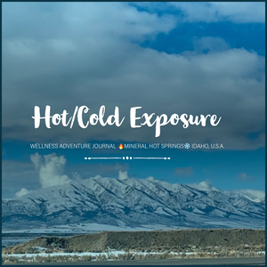 Wellness adventure journal hot springs