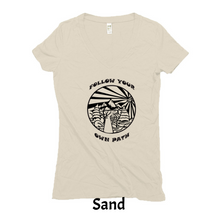 Women's Hemp Organic V Neck Tee
