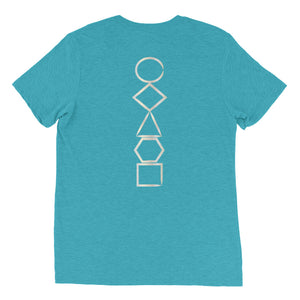 Platonic Solids Short sleeve t-shirt