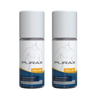 PURAX Antitranspirant Roll On 50ml (Double Pack)