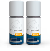 PURAX Antitranspirant Roll-On 50ml (Double Pack)