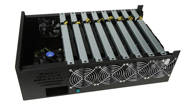 GPU MINER - 8 x NP106 - 185MHS ETH - 2500 Sols - Delivery in January