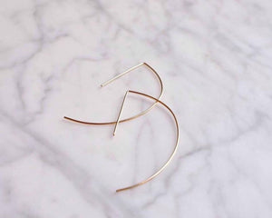 Archery Earrings - gold