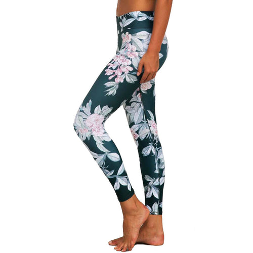 Floral-print Leggings