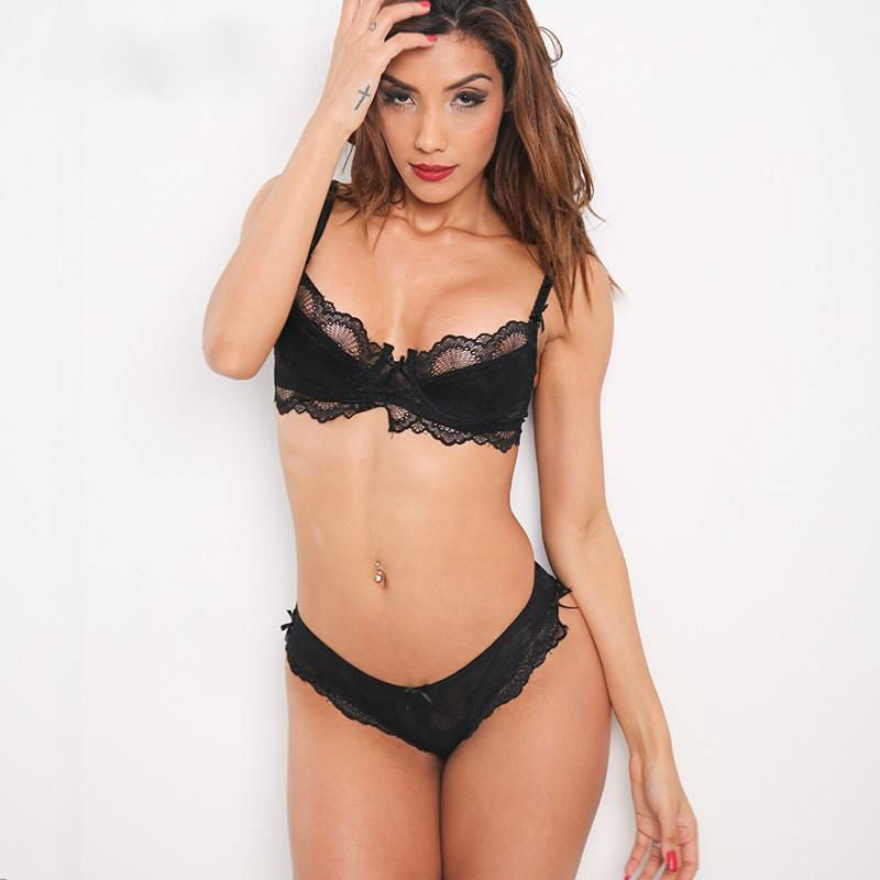 Lace Bra & Panty Set