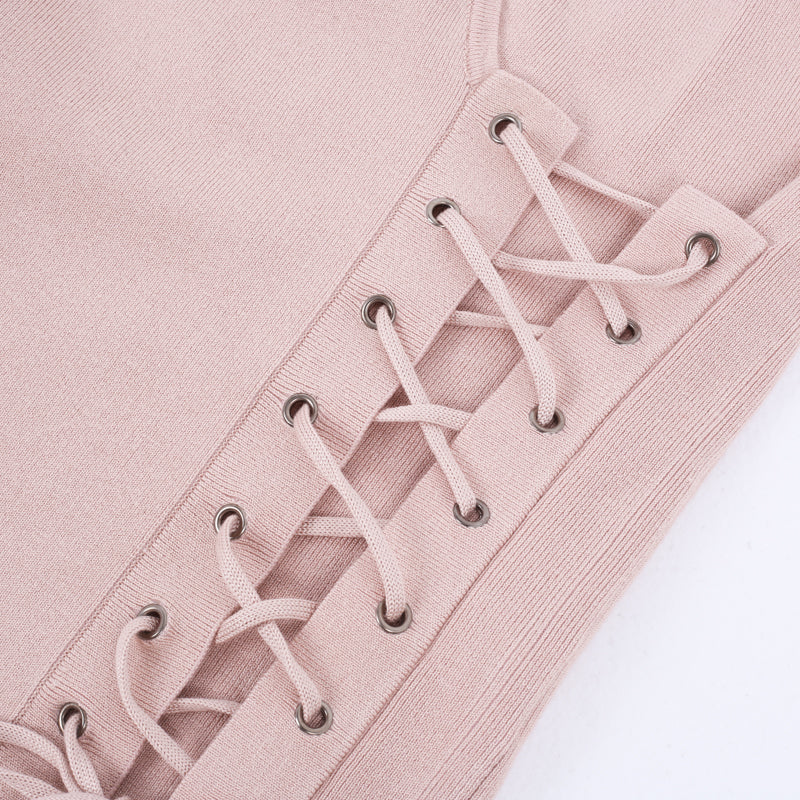 Side-laced Pullover