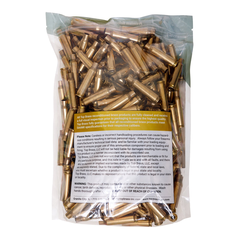 .308 Winchester Premium Reconditioned  Brass