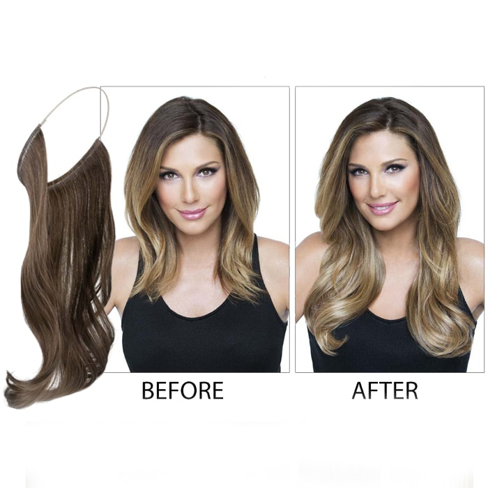 20 Length Invisible Wire Secret Hair Extensions Beautybarbooth