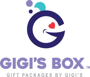 Gift packages by GiGi's.  We specialize in affordable, high quality care packages and gift packages for students away at college, camp, or boarding school; gifts for bridesmaids and groomsmen; anniversary gifts; get well gifts or just because