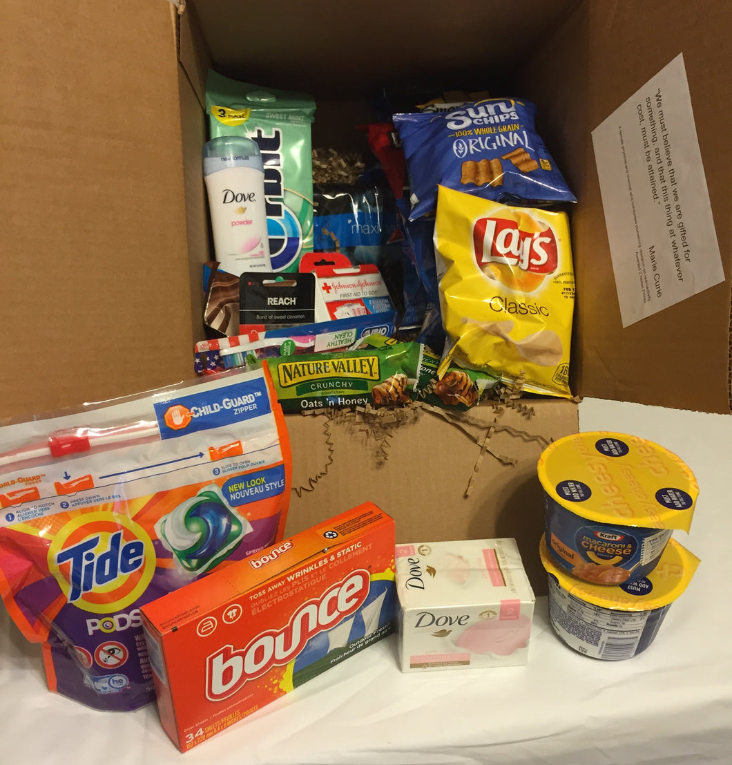 Large Care Package: College Student FEMALE