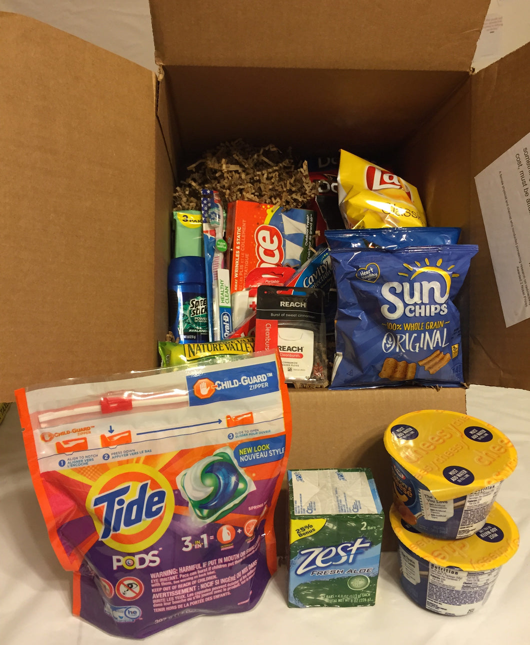 Large Care Package - College Student MALE