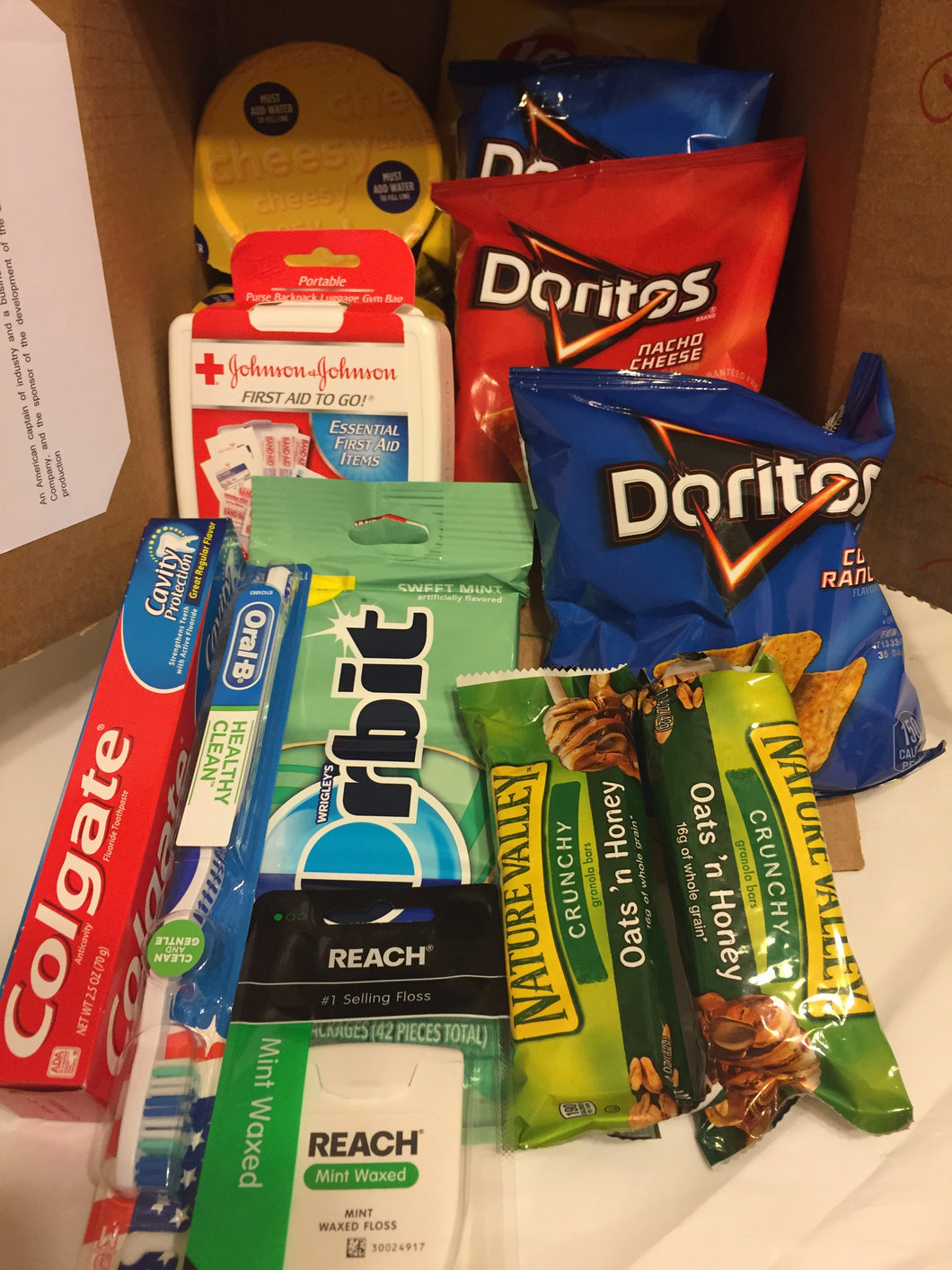 Small Care Package - College Student FEMALE