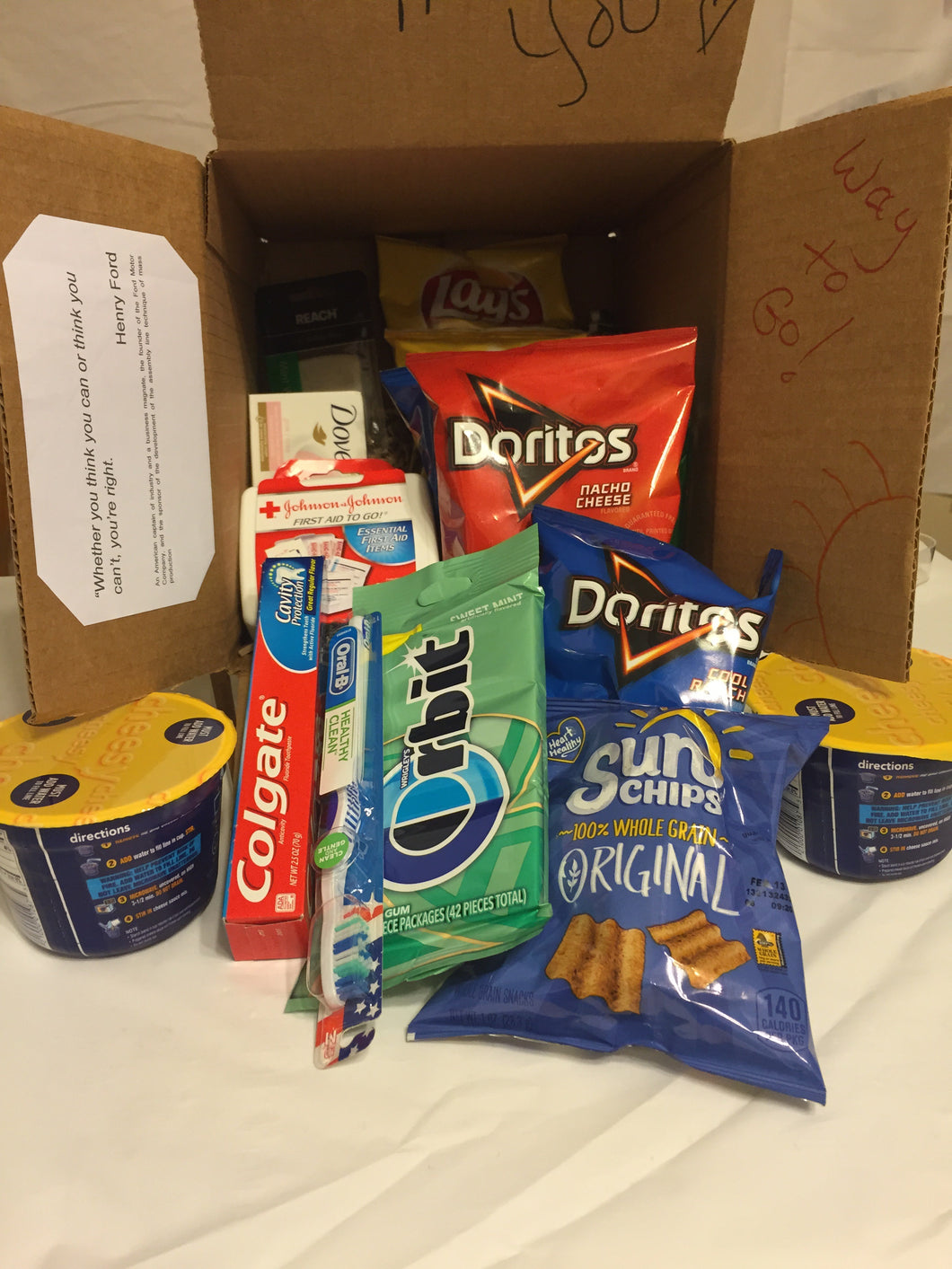 Medium Care Package - College Student FEMALE